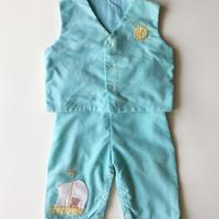 50s vest & pants outfit