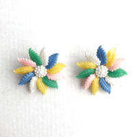 60s clip on earrings (dead stock) _mix