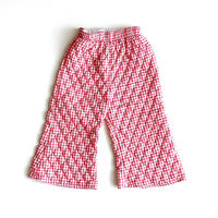 quilted plaid flea pants (dead stock)