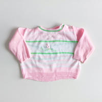 strip knitting sweater