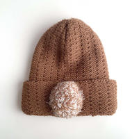 camel knitting hat (dead stock)