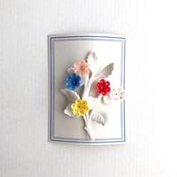 60s flower bouquet brooch (dead stock)
