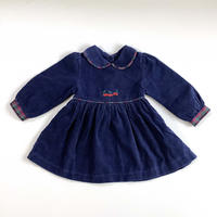 corduroy cherry dress
