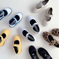 Sciuscià BABY&KIDS shoes_LEOPARD/WHITE CANVAS/YELLOW VELVET/BLACK VELVET/BEIGE VELVET/WHITE FUR