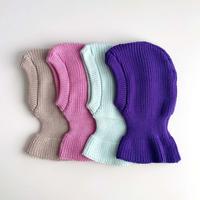 Knitting hat(camel/pink/mint/violet)