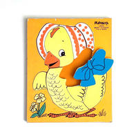 wood puzzle_chick