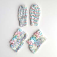 knitting booties&mittens (dead stock)