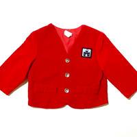 red velvet jacket (dead stock)