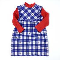 70s plaid dress (dead stock)