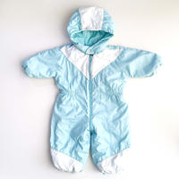 baby blue snow suit