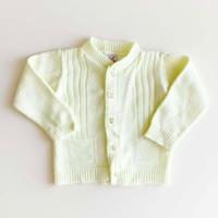 70s knitting cardigan (dead stock)