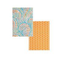 ◆メール便発送商品◆LIBERTY オスカー & ジョナサン A6ノートセット