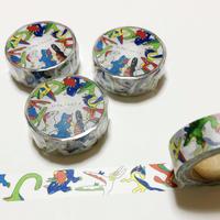 恐竜マスキングテープ