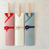 和紙かさね おもてなし箸 梅