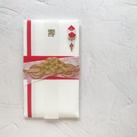 和紙かさねご祝儀袋 帯(赤)