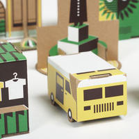 paper town #2 GREEN (3512pptaw002)