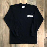 [FUTURe Transitions]Long-sleeve shirt  /  black