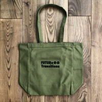 [FUTURe Transitions]Olive / Tote bag(内ポケット付)