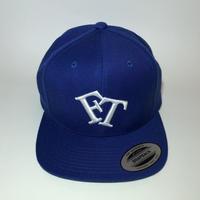 FT Logo Snapback Cap Royal x White