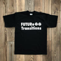 [FUTURe Transitions]T-shirt  size : S,M,L,XL,2XL / black