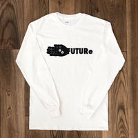 [FUTURe]Long-sleeve shirt  size : S,M,L,XL / white