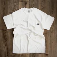 [chillax]Pocket T-shirt size : S,M,L,XL,2XL・ホワイト