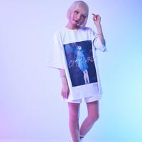 東京少女Tシャツ - ホワイト
