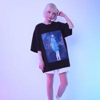 東京少女Tシャツ - ブラック