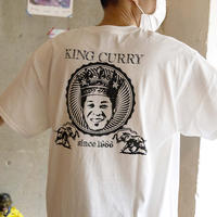 KING CURRY ビッグフェイス tee