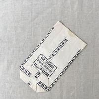 【フランス】ヴィンテージ紙袋/底マチ/ホワイト