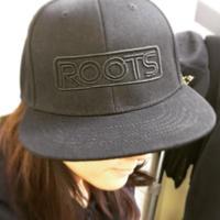 OSAKA ROOTS キャップ BLACK