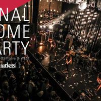 ライブDVD「FINAL HOME PARTY」at渋谷O-west