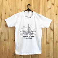 【THREE PEAKS】オリジナルTシャツ!