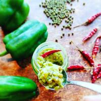 Eat the summer green!「ピーマンと緑豆のピリ辛米麹ソース」*翌週の木・金曜日発送*ラストオーダー日曜日24時まで