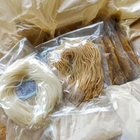 3pmの無農薬漢方栽培米で作った半生米粉麺10袋 簡易包装*次回発送 3月5日(金)