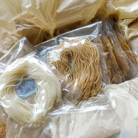 3pmの無農薬漢方栽培米で作った半生米粉麺10袋 簡易包装(玄米×5 白米×5*次回発送 10月29(木)30日(金)*ラストオーダー10月27日(火)
