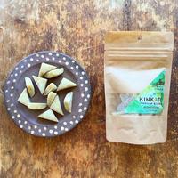 KINKATO 三角の手作り飴 葉山金華糖 (ホーリーバジル+塩)