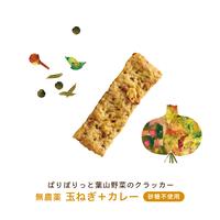 VEGICRA 葉山 野菜のクラッカー(玉葱カレー)*次回発送 6月24日(木)25(金)