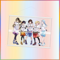RIOT MUSIC×横浜ビー・コルセアーズ B2サイズタペストリー