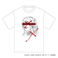 SOLOMON×賭ケグルイ××「早乙女芽亜里 T-Shirts」(WHT)