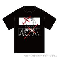 SOLOMON×賭ケグルイ××「蛇喰夢子 T-Shirts」(BLK)