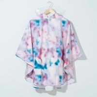 43DEGREES レインポンチョ(キッズ) - Tie dye A