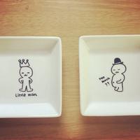 Little man 小皿