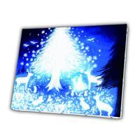 【雪と星の木】(メリーミルク )[キャンバスアート]