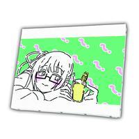【憧れ】(神楽すず)[キャンバスアート]