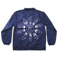 "SHUNTAROU TAKEUCHI × RYUHEI KOBOSHI / ""Pie"" Coach jacket - navy"