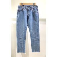 "OLDPARK / Slit Jeans #Blue ""C"" / size:S"