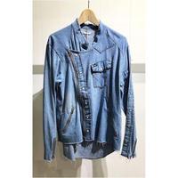 "OLDPARK / Riders shirt #Denim western""B"" / size:L"