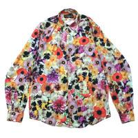 DOMINGO / Flower shirt - white/yellow/pink