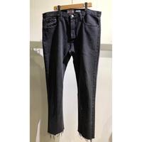 "OLDPARK  / Slit Jeans  #Black ""F"" / Size:XL"